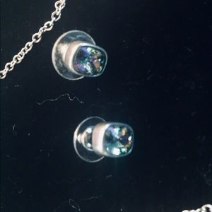 Touchstone Crystal by Swarovski Jewelry - Necklace and earrings set